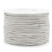 Coloured elastic cord 1.5mm Light Grey