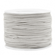 Coloured elastic cord 1.2mm Light Grey