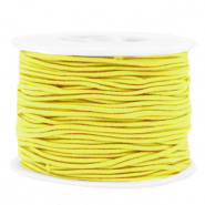 Coloured elastic cord 1.5mm Yellow