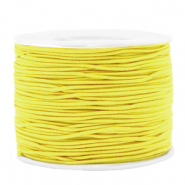 Coloured elastic cord 1.2mm Yellow