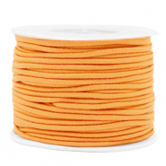Coloured elastic cord 2mm Paradise Orange