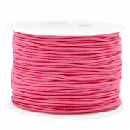Coloured elastic cord 1.5mm Azalea Pink