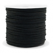 Macramé bead cord 1.5mm benefit package Black