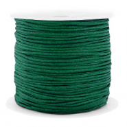 Macramé bead cord 1.5mm benefit package Dark Green