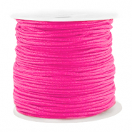 Macramé bead cord 1.5mm benefit package Fluor Pink