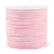 Macramé bead cord 1.5mm benefit package Light Pink