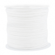 Macramé bead cord 1.5mm benefit package White