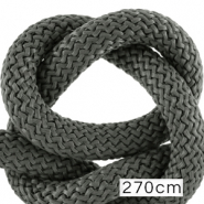 Maritime cord 10mm (270cm) Dark Grey