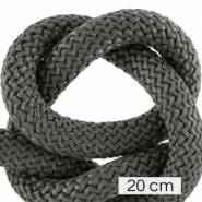 Maritime cord 10mm (4x20cm) Dark Grey