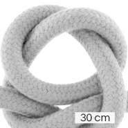 Maritime cord 10mm (3x30cm) Cool Grey