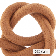 Maritime cord 10mm (3x30cm) Terracotta Brown