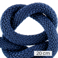 Maritime cord 10mm (4x20cm) Dark Blue