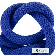 Maritime cord 10mm (4x20cm) Princess Blue