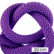 Maritime cord 10mm (4x20cm) Dark Purple