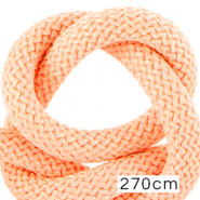 Maritime cord 10mm (270cm) Light Salmon Pink