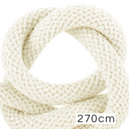 Maritime cord 10mm (270cm) Ivory White