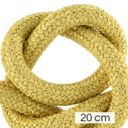 Maritime cord 10mm (4x20cm) Metallic Gold