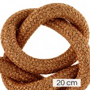 Maritime cord 10mm (4x20cm) Metallic Copper