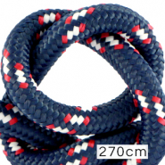 Maritime cord 10mm (270cm) Multicolour Red White Blue