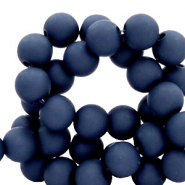 8 mm acrylic beads Peacoat Blue