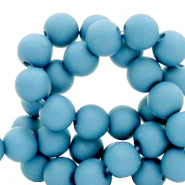 8 mm acrylic beads Cornflower Blue