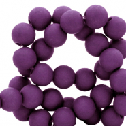 8 mm acrylic beads Tillandsia Purple