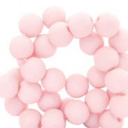 8 mm acrylic beads Rose Tan