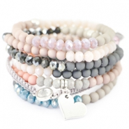 Inspirational Sets Hip bracelets with acrylic beads!