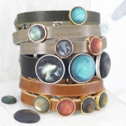 NEW New Cuoio bracelets & cabochons