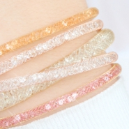 NEW New: Crystal faceted beads bracelets