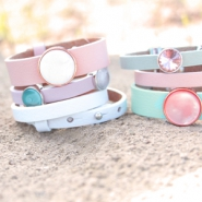 NEW New cuoio bracelets in summer colours!