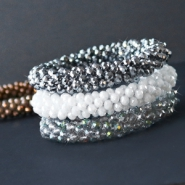 NEW Trendy pins & faceted bracelets