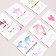 NEW New: jewellery greeting cards