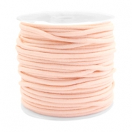 Coloured elastic cord 2.5mm Pastel pink