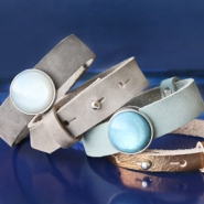 NEW New Cuoio bracelets in nubuck leather and metallic!