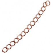 DQ extension chain DQ rose gold plated (durable plating)