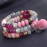 NEW New natural stone faceted beads!