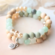 Inspirational Sets Pretty jewellery of natural stone beads