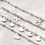 NEW Stainless steel jewellery findings and metal settings