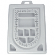 Medium jewellery beadbord Grey