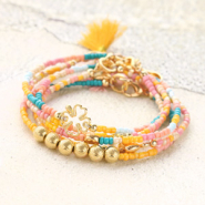 Inspirational Sets Creating summer bracelets with new glass seed beads