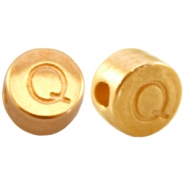 DQ metal letterbead Q Gold (nickel free)