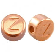 DQ metal letterbead Z Rose gold (nickel free)