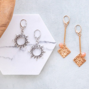 NEW NEW! DQ European metal findings + charms!