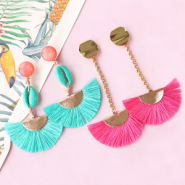 NEW New! Colourful tassel charms
