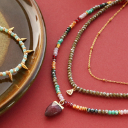 NEW New faceted beads in festive trend colours