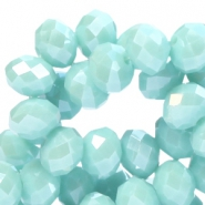 Top faceted beads Top faceted beads 8x6mm disc
