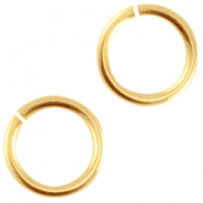 DQ metal jumpring 4.5mm Gold (nickel free)