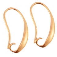 DQ metal earrings Rose gold (nickel free)
