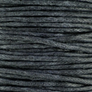 Waxed cord 1.5mm Grey